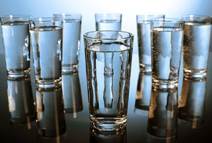 Image of glasses of water from WebMD.com